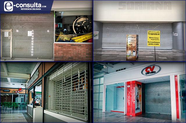 Covid cerró 15% de negocios en plazas comerciales de Puebla
