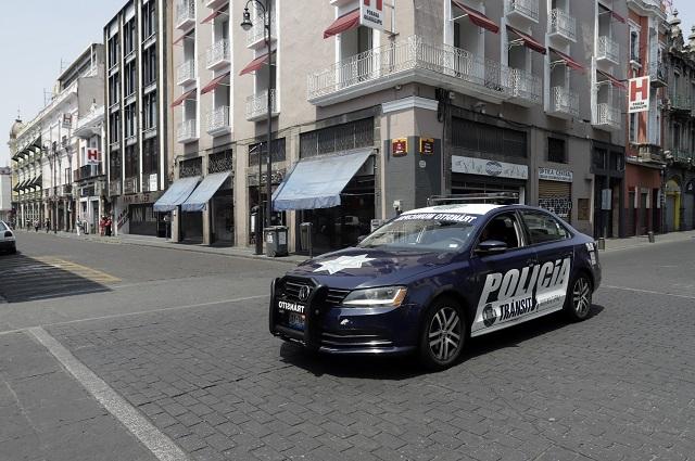 Comerciantes dicen que cierre del centro de Puebla fue improvisado