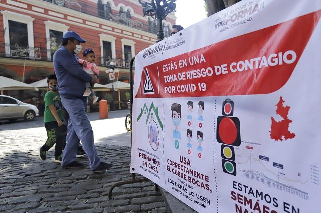 Puebla es foco rojo por alza de casos de Covid, alerta Conacyt