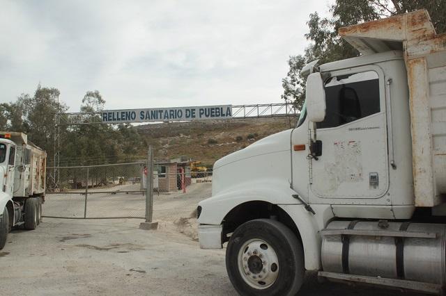 Mantienen bloqueado relleno sanitario de Chiltepeque
