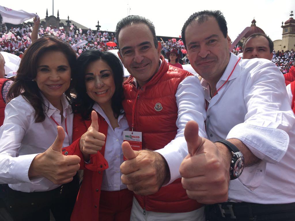Delfina Gómez respetará resultados de comicios en Estado de México
