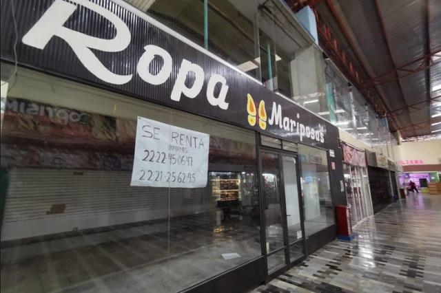Quiebran 180 locales por cierre de plazas comerciales en Puebla