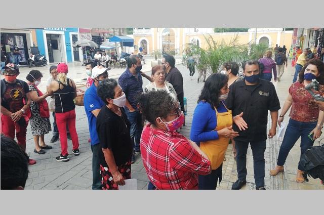 Cierran mercado 16 de Marzo de Tehuacán por caso de Covid