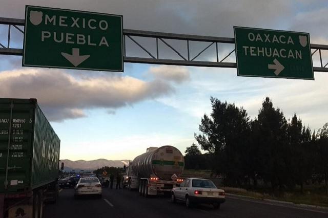 Cierran la Puebla-Orizaba tras operativo armado en Quecholac