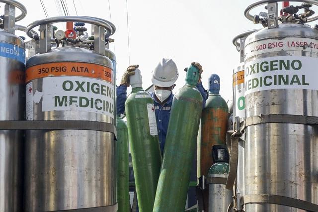 Escasez de tanques de oxígeno en Acatlán por aumento de contagios