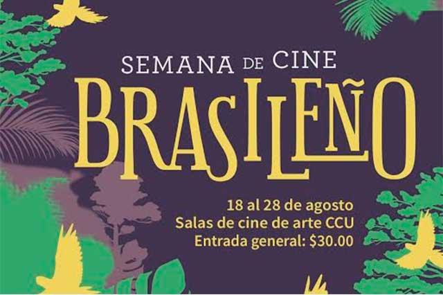 Proyectan ciclo de cine brasileño en el Complejo Cultural Universitario BUAP