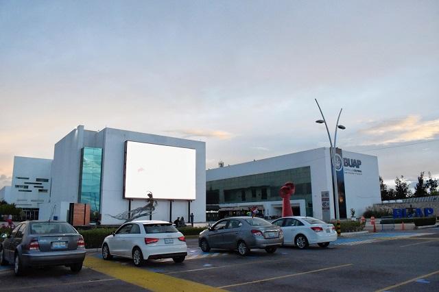 Este jueves abre el autocine del Complejo Cultural de la BUAP