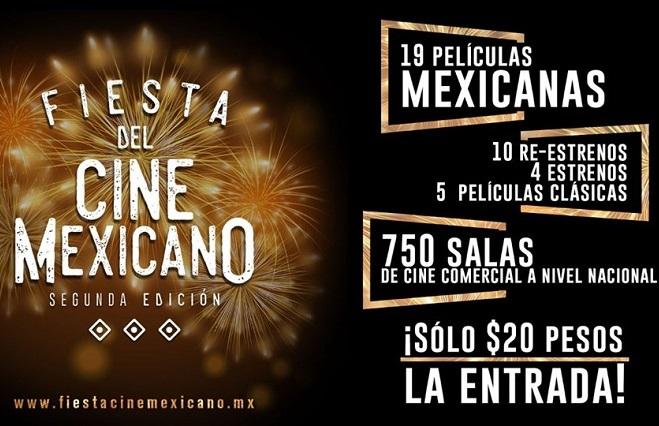 Cinépolis y Cinemex ponen películas mexicanas a 20 pesos