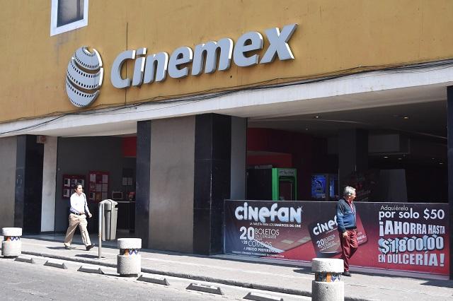 Informan que Cinemex y Cinépolis cerrarán complejos