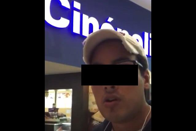 Así reaccionó Cinépolis a denuncia que hizo persona con discapacidad