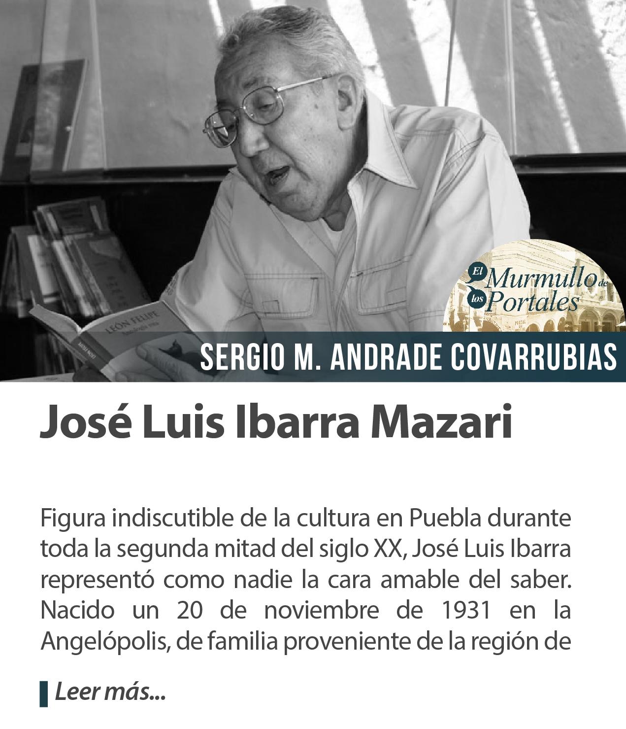 José Luis Ibarra Mazari