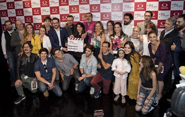 Inicia Televisa grabaciones de Cita a Ciegas