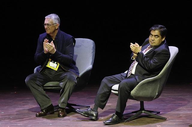 Ofrece Barbosa respaldo al festival La Ciudad de las Ideas