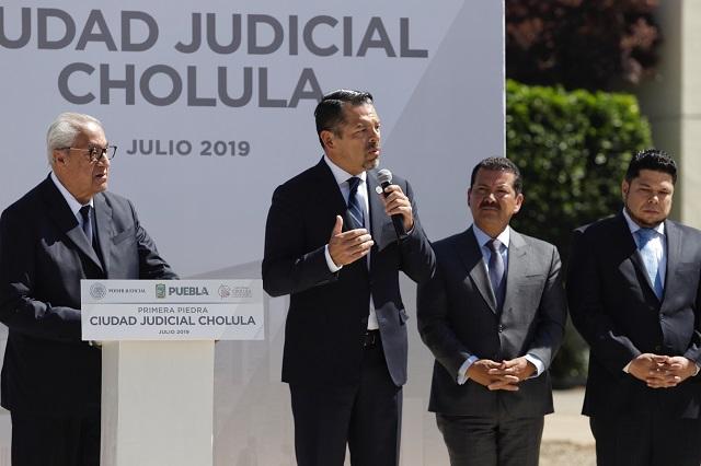 Aún hay rezago de jueces en el TSJ, reconoce Héctor Sánchez