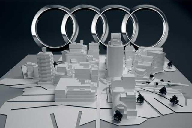 Confía Audi en que parte de Ciudad Modelo esté lista en agosto