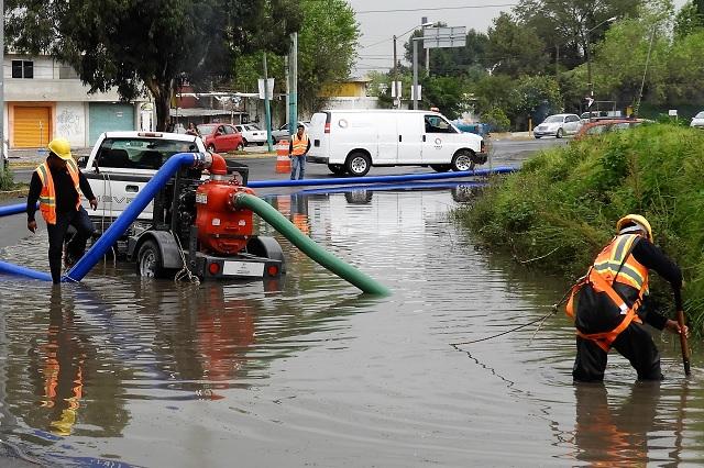 Revisan 23 puntos por riesgo de inundaciones en Puebla