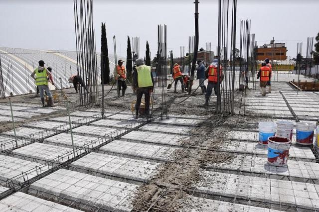Avanza construcción de Ciudad Judicial en San Pedro Cholula