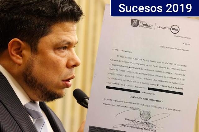 Gabriel Biestro engañó al Instituto Electoral para ser diputado en 2018