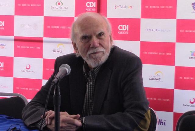 Premio Nobel de Física comparte hallazgo en La Ciudad de las Ideas