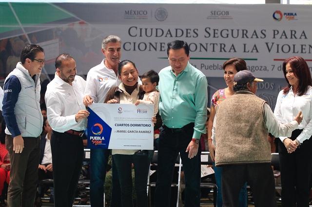 Osorio, Gali y Robles lanzan programa de Ciudades seguras para mujeres