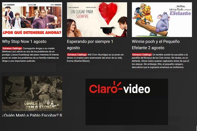 Estos son los estrenos de Claro Video para el mes de agosto