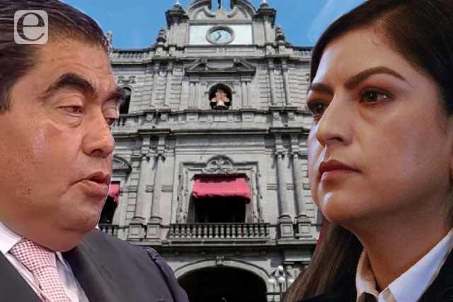 Por intromisión de Barbosa, guerra con el municipio: Claudia Rivera