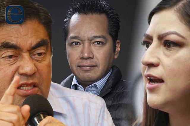 Rechaza Rivera solapar a García Viveros; Barbosa lo asevera