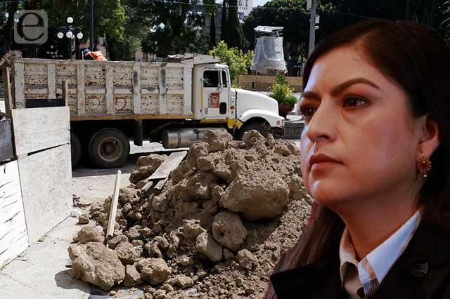 Rivera desdeña reclamos de Rivera Pérez por ambulantes y obras