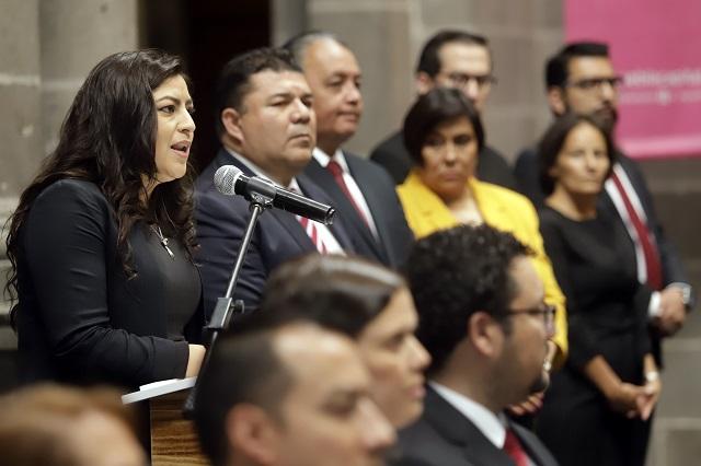 Nunca he fallado, pero evaluaré mi desempeño, dice Claudia Rivera