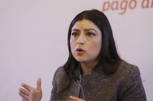 Claudia Rivera va por reelección; perfila a Argelia Arriaga como su sucesora