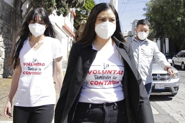 Denuncian Rivera y mujeres de su gabinete violencia de género