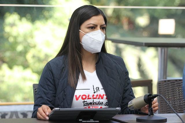 PAN denunciará a Claudia Rivera por proselitismo en horario laboral
