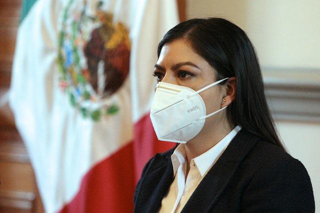 Ordena IEE a Claudia Rivera cesar promoción personalizada