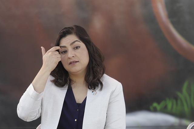 Rechaza Claudia Rivera a enviada de Barbosa para Seguridad