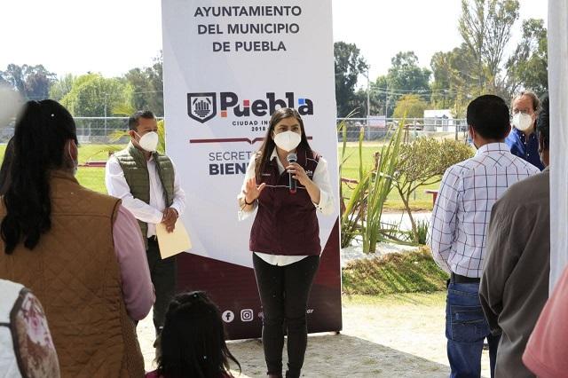 Claudia Rivera minimiza denuncia del PAN y afirma que actúa con legalidad