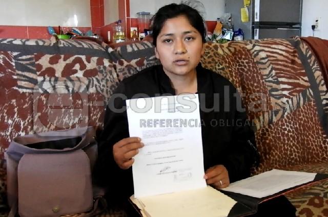 Claudia se salvó de ser linchada; ahora sufre burocracia de la FGE