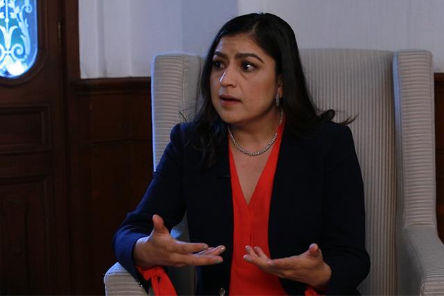 Hay ahora más obra que con los gobiernos del PAN: Claudia Rivera