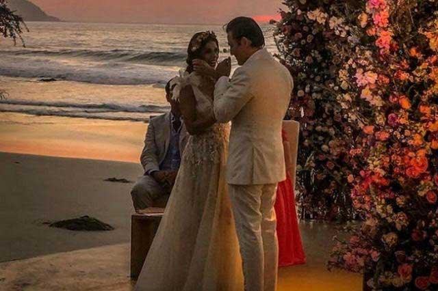Claudia Álvarez y Billy Rovzar comparten fotos de su luna de miel