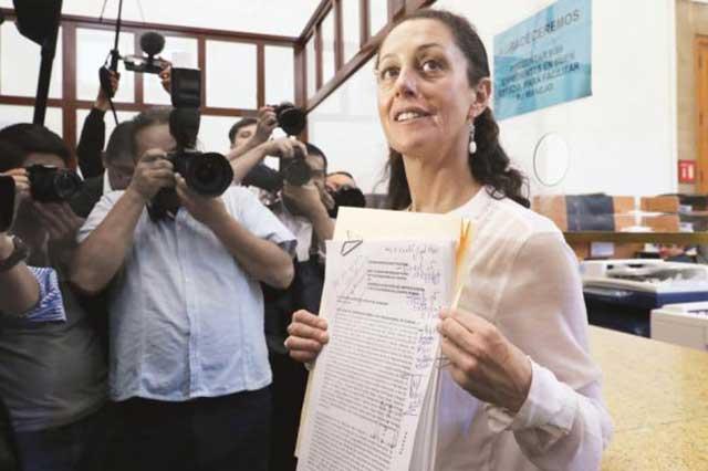 Sheinbaum gana encuesta de Morena y va por la gubernatura de la CDMX