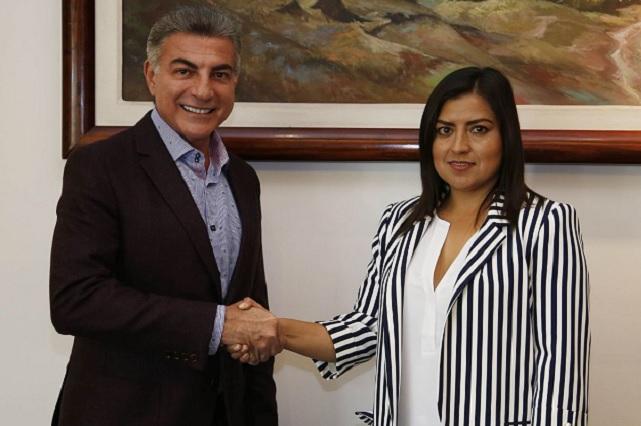 Pide Claudia Rivera participar en reuniones de seguridad