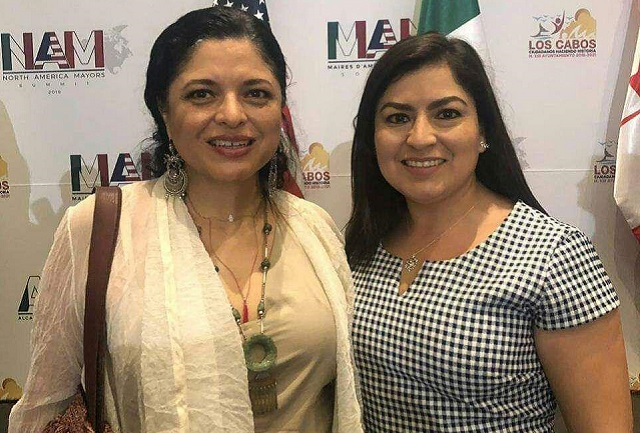 Participa Claudia Rivera en Cumbre de Alcaldes de América del Norte