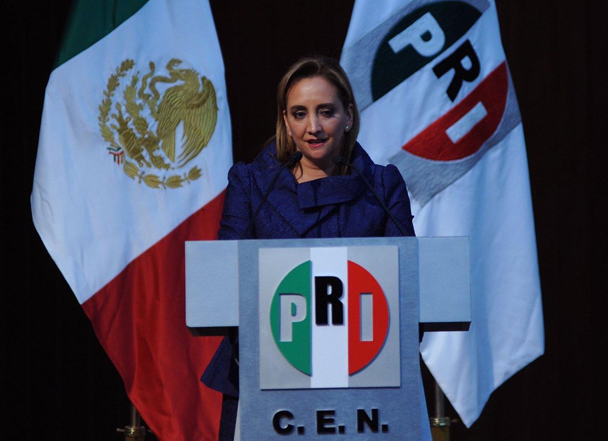 Resultado de imagen para Claudia Ruiz Massieu, secretaria general del PRI.