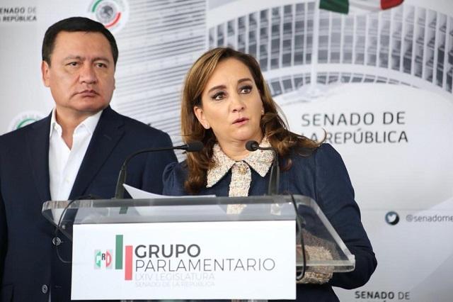 PRI advierte que si no se corrige dictamen de Guardia Nacional votará en contra
