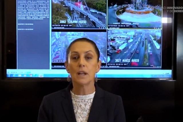 Combate a la corrupción no es negociable, dice Sheinbaum a taxistas