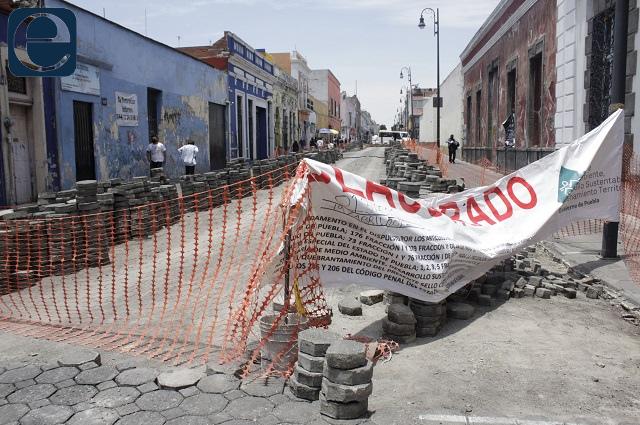 Segob culpa al Ayuntamiento por calles cerradas en Puebla