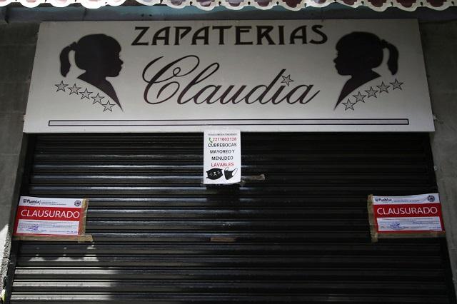 Anuncia Barbosa clausuras en reapertura del centro poblano