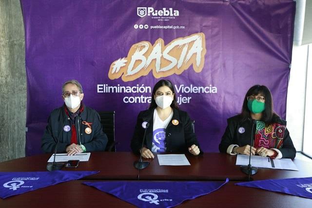 Claudia Rivera subraya compromiso contra la violencia hacia las mujeres
