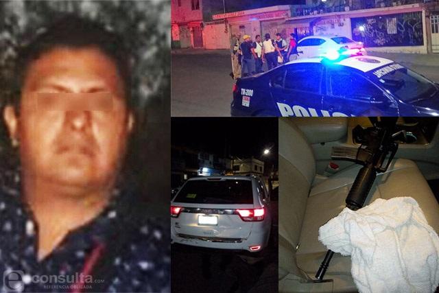 El Negro huyó rumbo a Huixcolotla tras balacera en Clavijero