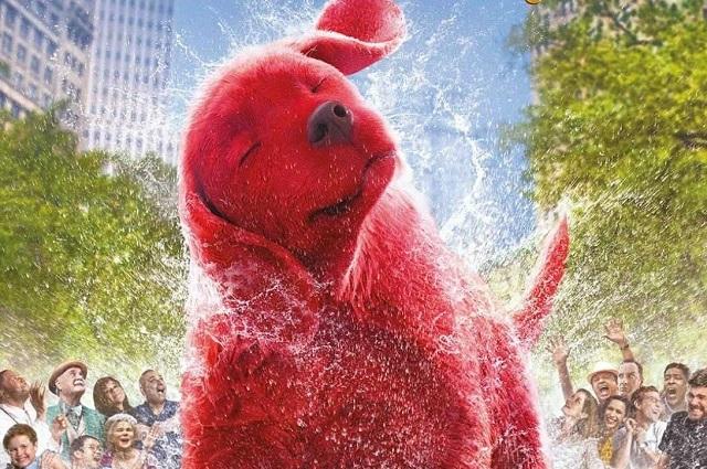 Estrenan trailer de Clifford El Gran Perro Rojo