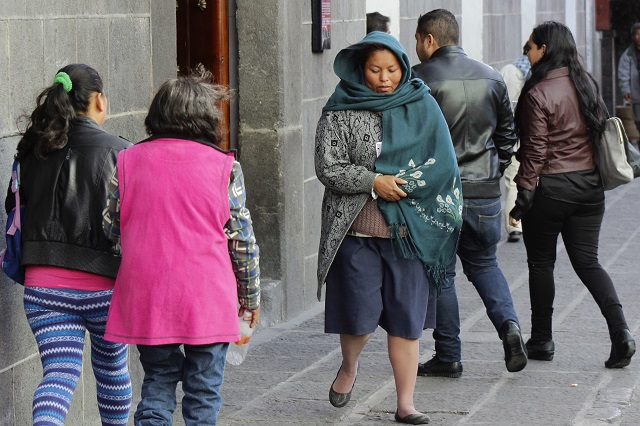 Ambiente frío en el centro del país por frente número 9